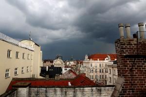 Bouřka nad Střechou